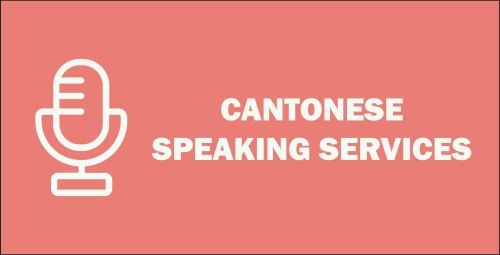 Recent CANTONESE Speaking Services
